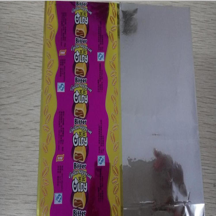 PVC/PET Twist Film for candy wrapper