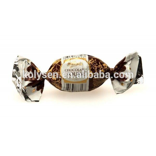 KOLYSENCustom printed food grade twistable film Hard candy wrap film Verified Supplier in china