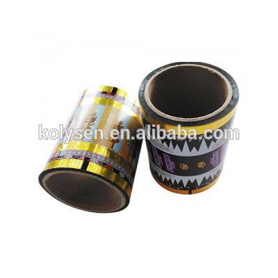 Custom printed food grade Twistable film 19 micron candy wrapper twist film Wholesale