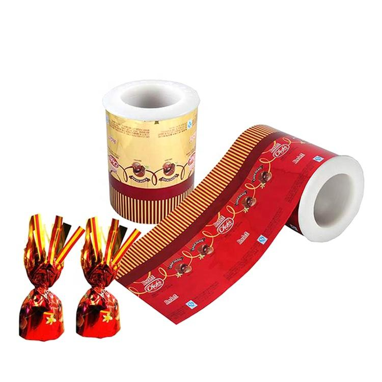 lollipop wrapper/PET twist film/ candy film