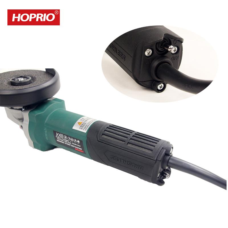 Hoprio Brushless Mini Free Maintenance industrial grinding machine 4 inch S1M-100YE2