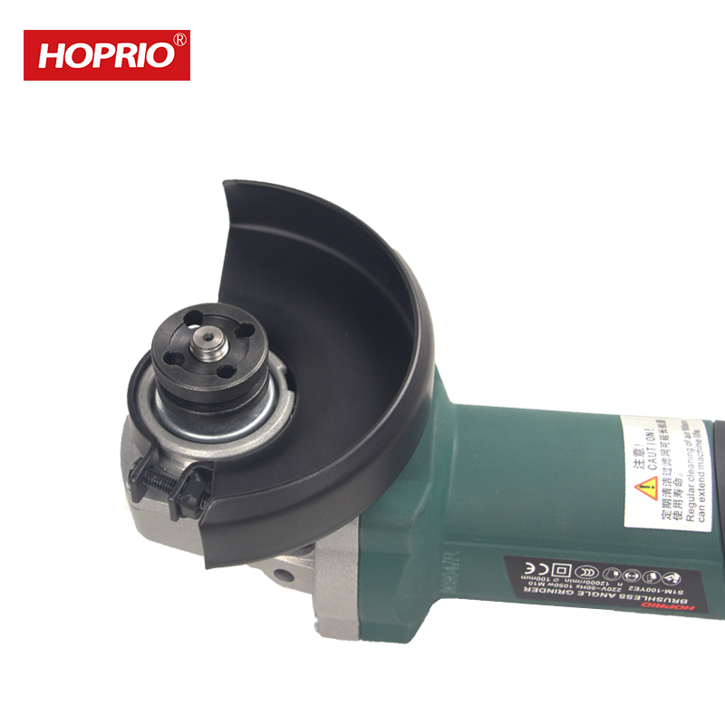 New Brushless 100 mm mini electric angle grinder machine
