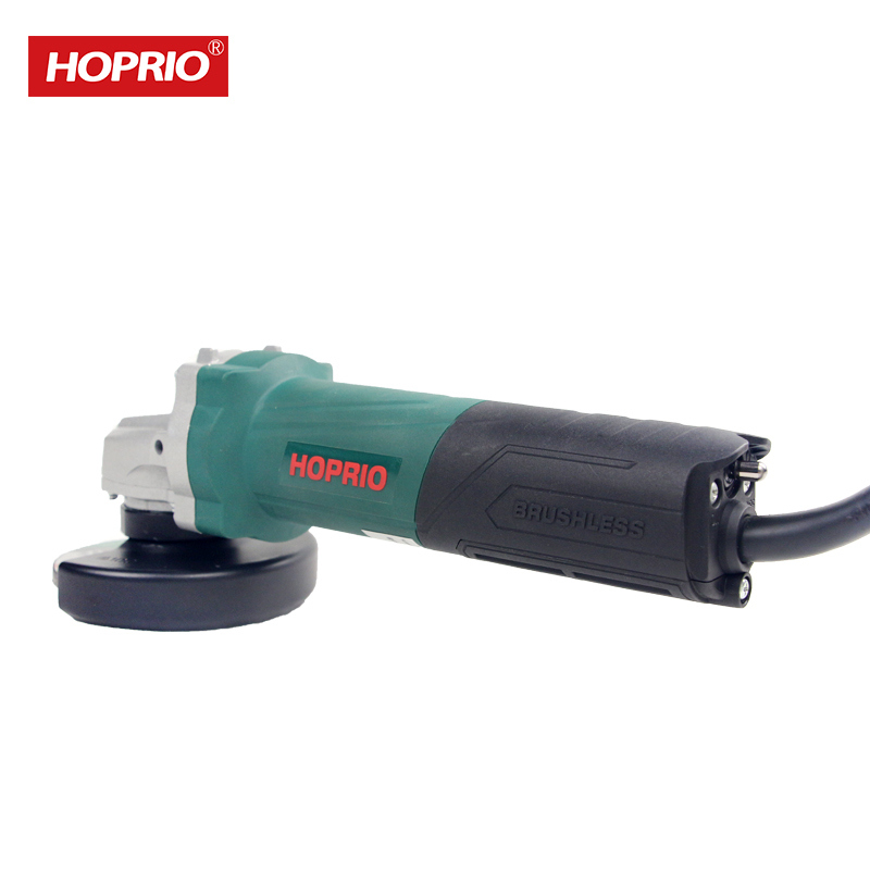 Hoprio Brushless 100mm 4 Inch 1050W Top Quality Brushless Small Hand Grinder S1M-100YE2 From China