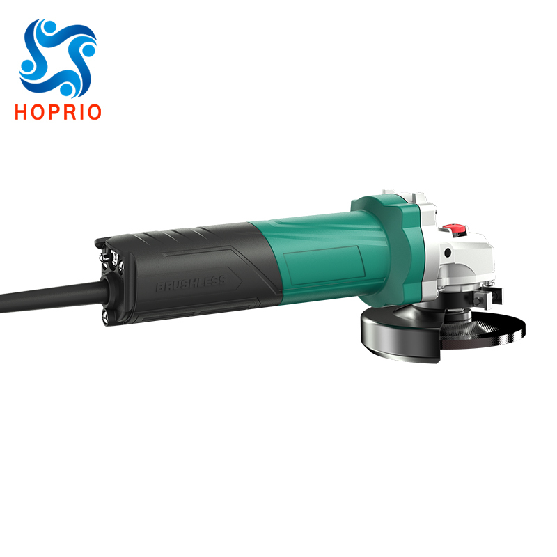 Hoprio 4 inch 220V 900W high efficiencybrushlesspower tools angle grinderwholesale