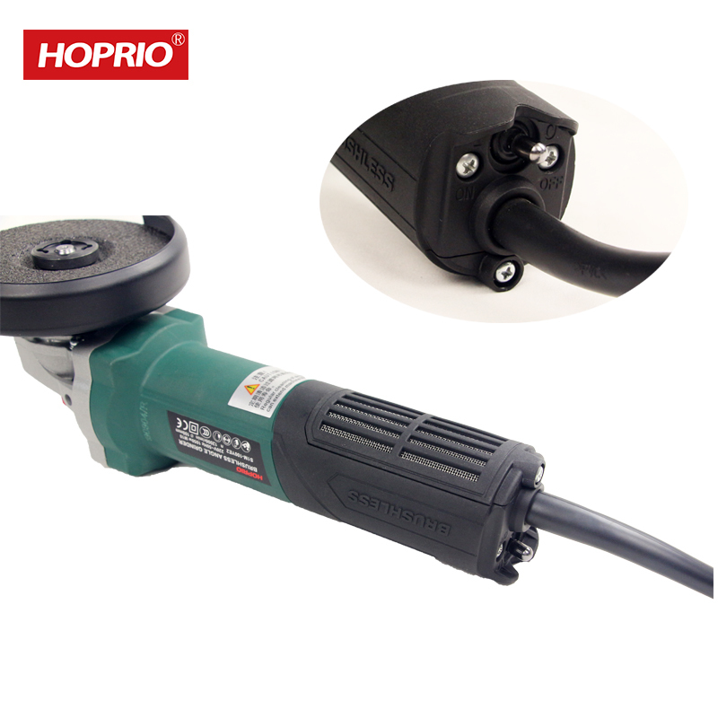 4 Inch 1350W 6A Brushless Mini Hand Tools 220V Electric Angle Grinder Machine