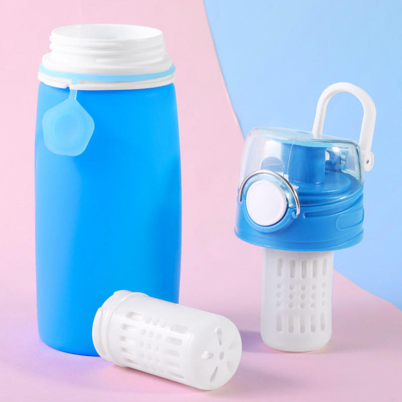 2 Stage Blue Ultrafiltration Membrane Filter Water Portable Bottle For Outdoor Camping Softens Water Dispenser Directly Drunk