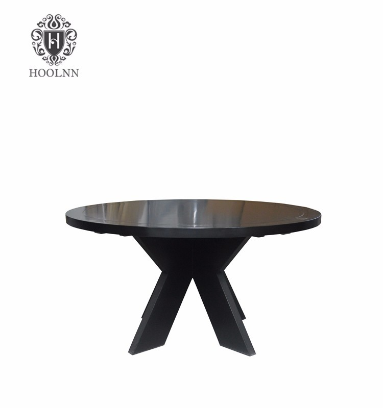 Top Round Wooden Table