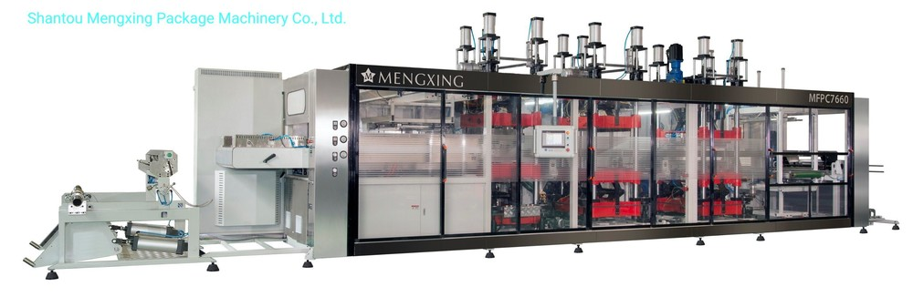 4 Stations Pressure & Vacuum Forming Machine