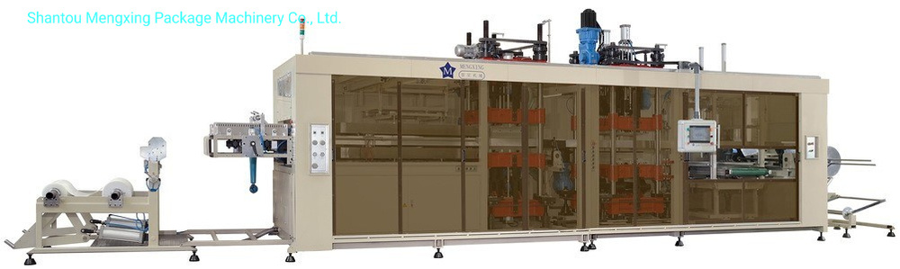 Automatic 3 Station Pressure & Vacuum Forming Machine