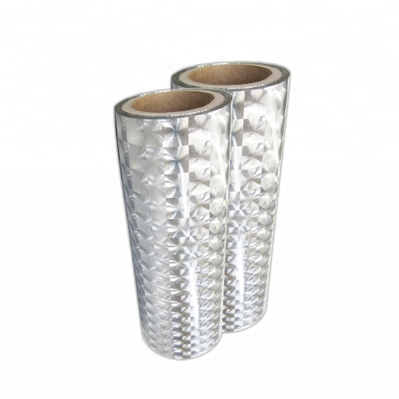 BOPP pearlized/3D multi lens holographic thermal film for handbag