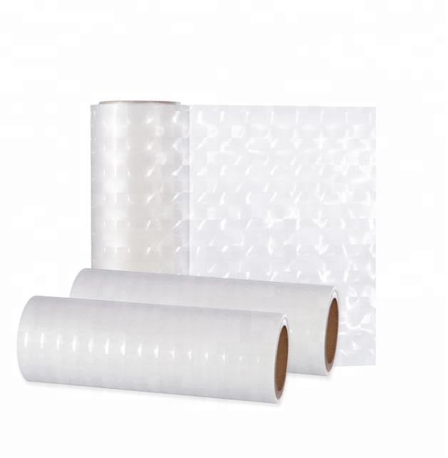 3D laser hologram thermal film for lamination coated eva bopp eva film for gift boxs