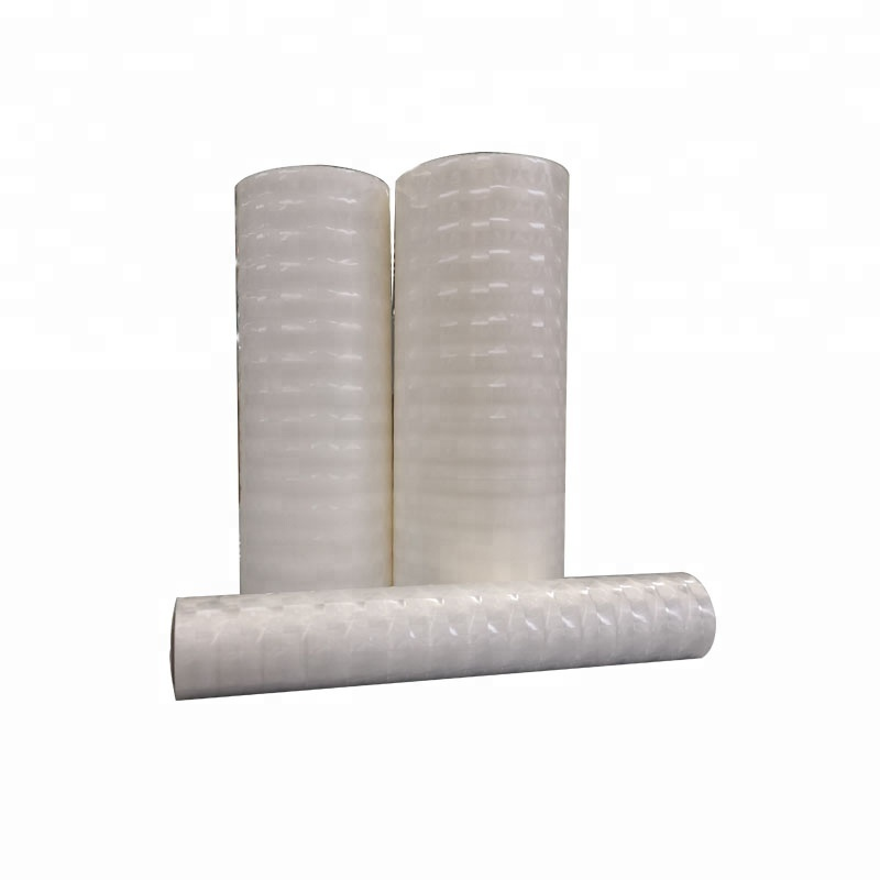 3D BOPP film thermal and cold laminating film wrapping paper roll gift