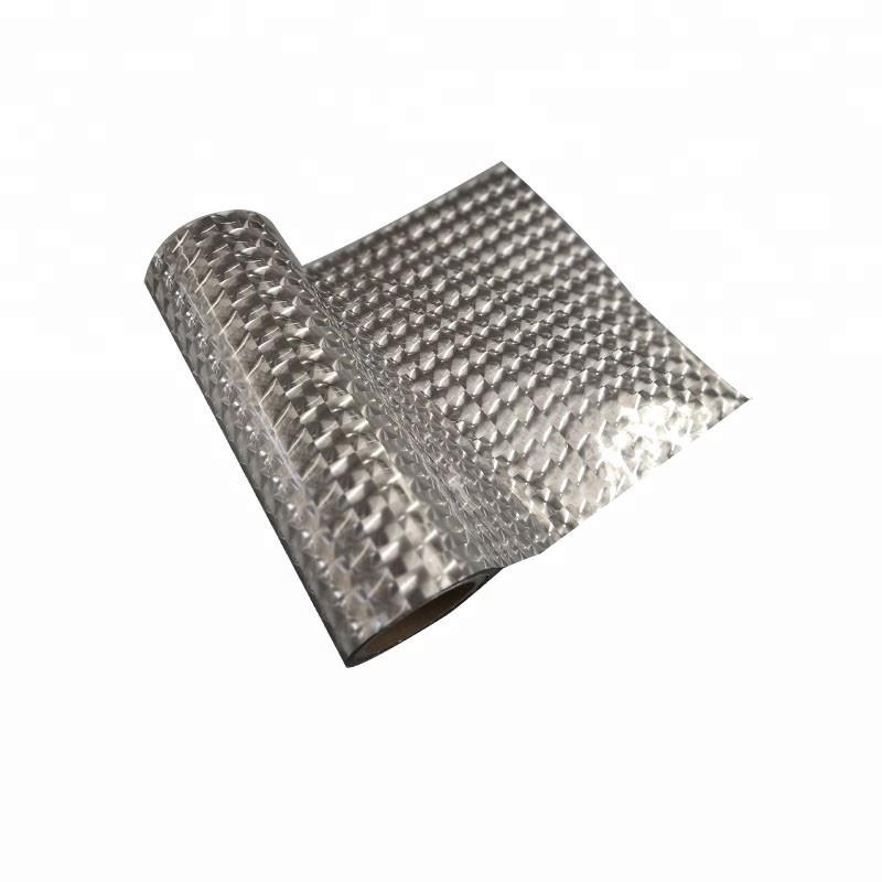 thermal lamination metalized 3D lenticular film