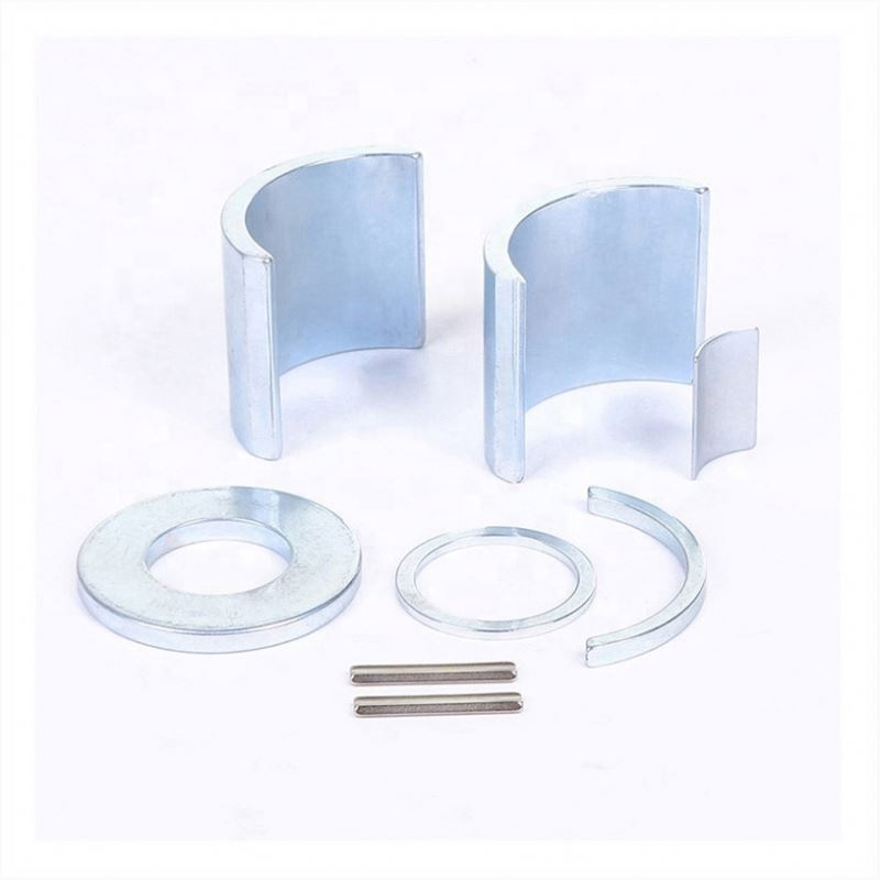 China ndfeb magnet manufacturer durable strong ndfeb segment permanent arc block magnet