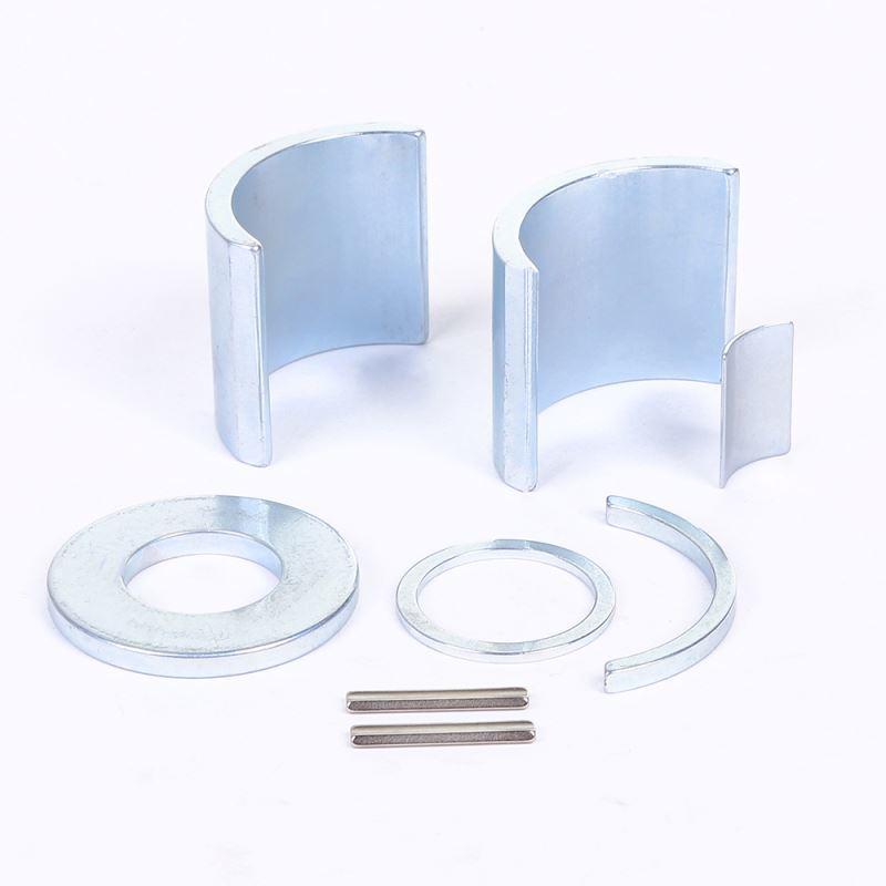 China supplier neodymium arc ring shaped motor speaker permanent ndfeb magnet