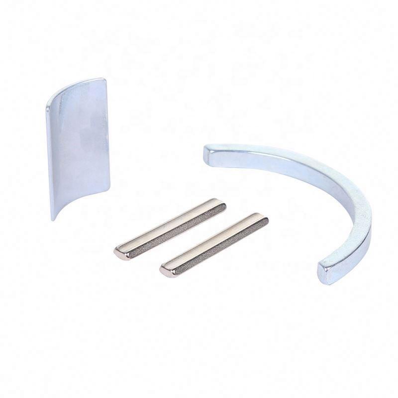 Wholesale OEM quality strong rare earth permanent motor neodymium arc multi-size ndFeB magnet