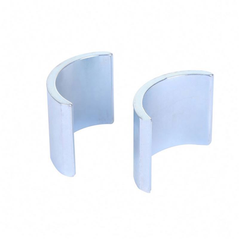 Wholesale strong arc segment ndfeb magnets tile shape motor use magnets