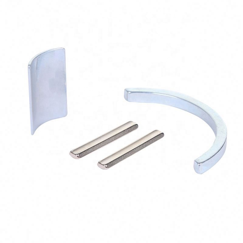 CustomizedN52 Arc Segment tile neodymium magnets for motor