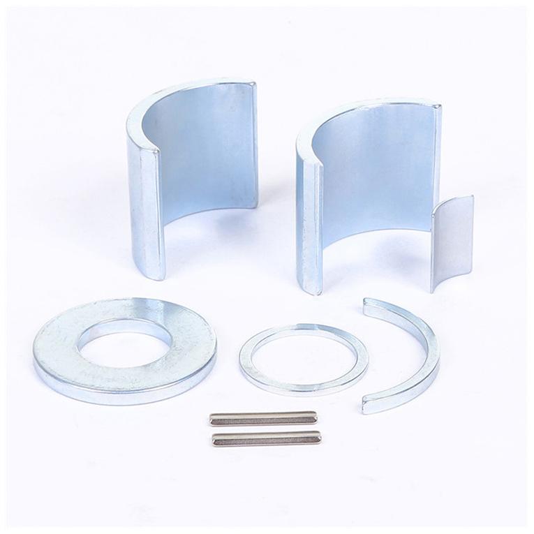 Multipurpose custom size cheap Neodymium arc magnet NdFeB motor magnet