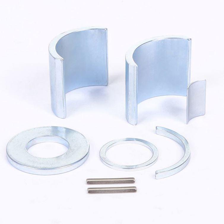 Manufacturer Sell Arc Magnet N35-N52 NdFeB Tile Shaped Neodymium Magnets