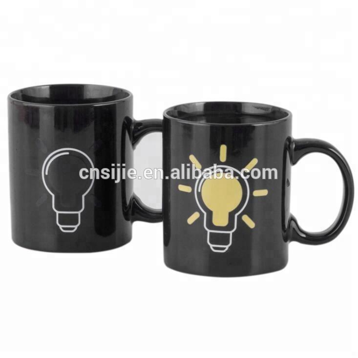 Wholesale Custom Unique Design Ceramic Sublimation Color Changing Mugs