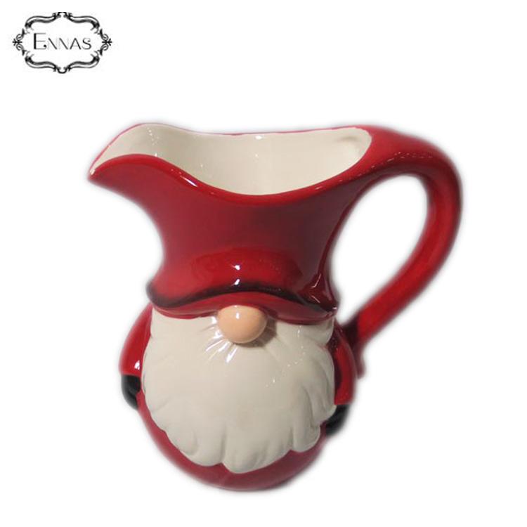 Popular Promotional High Quality Christmas Ceramic Santa Tea Mug