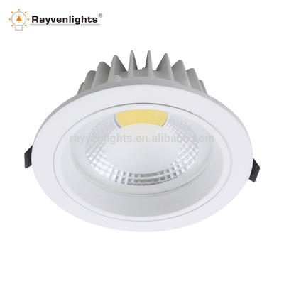 High lumen recessed led downlight housing die casting