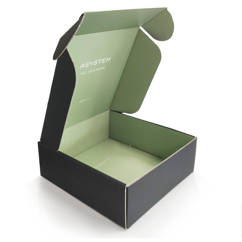 Custom Printed foldable tshirt kraft packaging gift shipping box