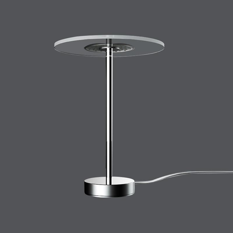 bedside study table light 2020 new fashionable led clear table lightEye Protection No stroboscopic transparent desk lamp