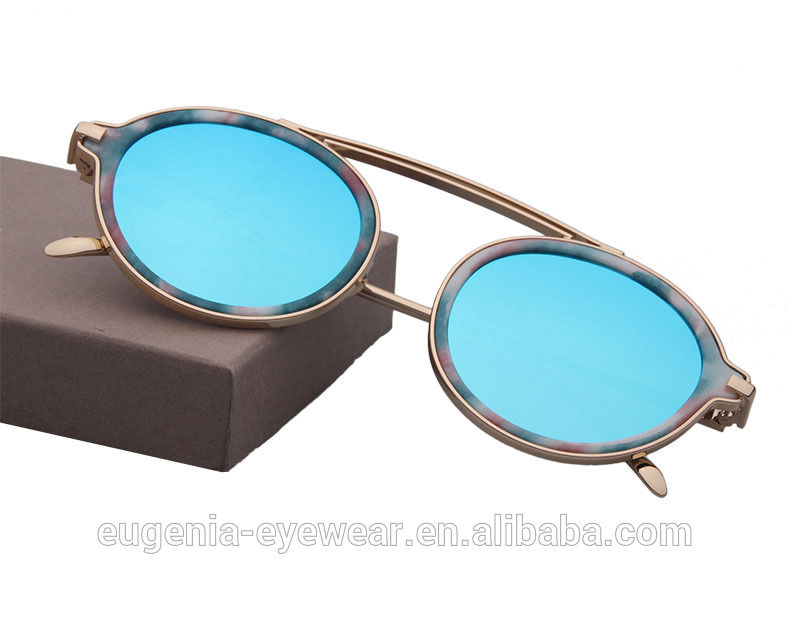 Factory wholesale 2020 promotional small round sunglasses for man or woman
