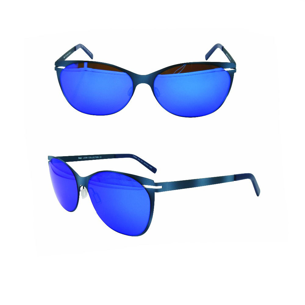 EUGENIA high quality blue mirror polar eagle polarized sunglasses
