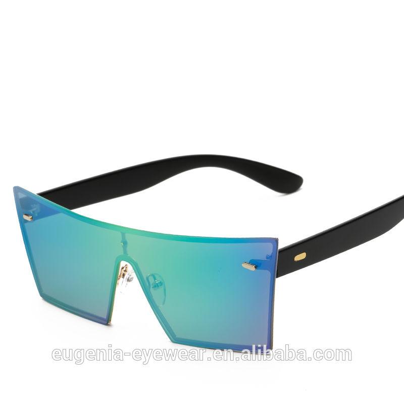 EUGENIA Shield lens sunglasses one piece oversized huge frame unisex fashion stylish sunglasses