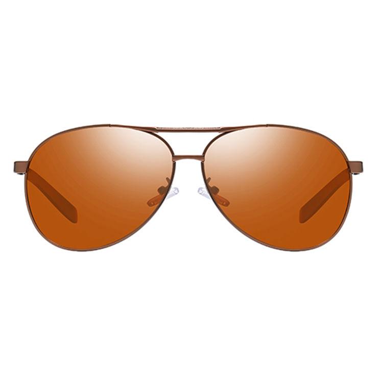 EUGENIAClassical Men Polarized Sun Glasses Custom Logo Aviation Sunglasses