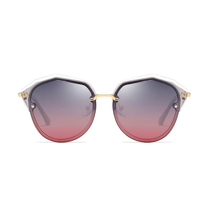 EUGENIA Wholesale Fashion Polarized Clear PC Frame Sunglasses Designer Sunglasses 2021