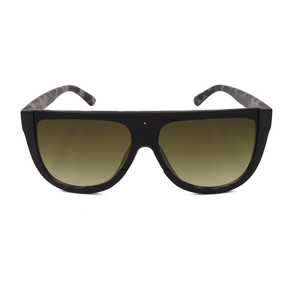 EUGENIA One Piece Lens Fashion Women Oversize Sunglasses Square Designer Brand Sunglasses 2021