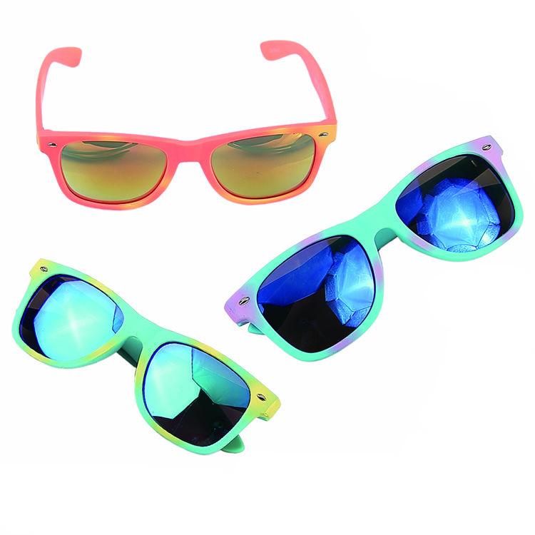 EUGENIA classic retro style shiny plastic uv 400 ce sunglasses