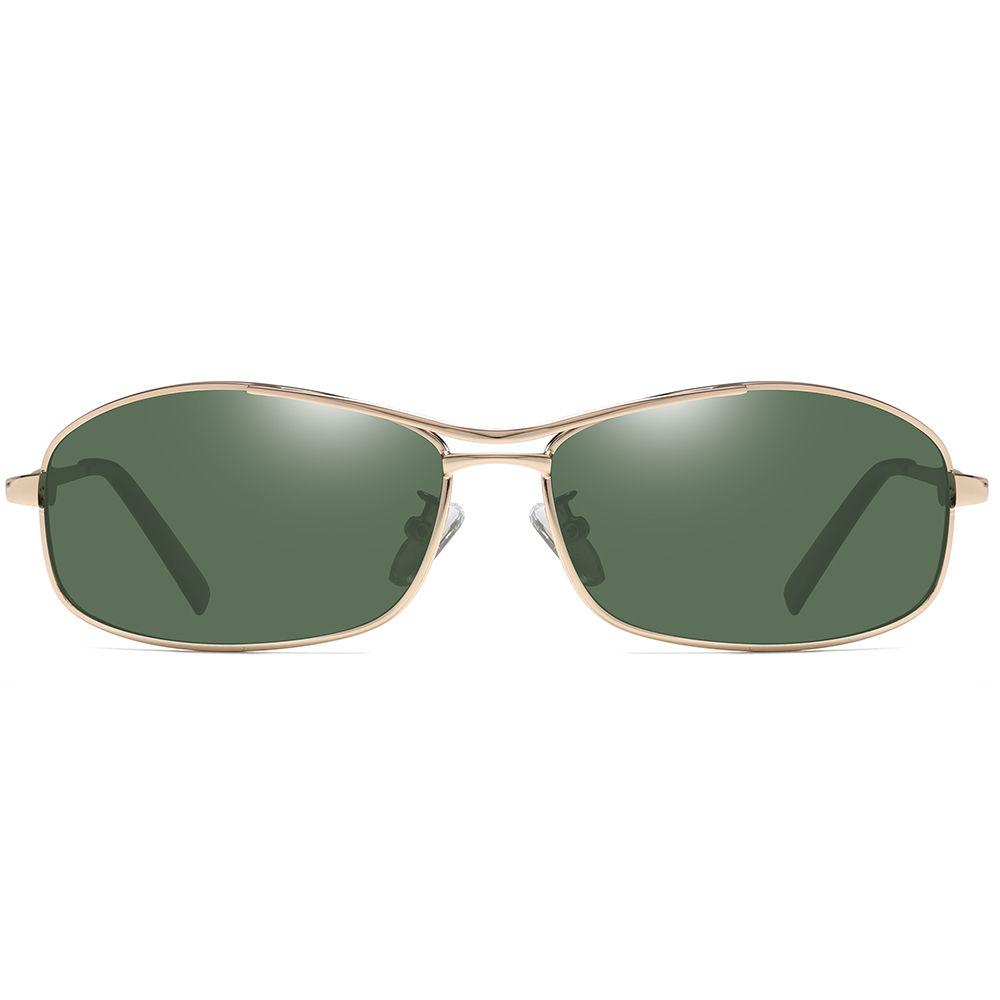 EUGENIA Fashion polarizes metal frame sun glasses metal sport sunglasses