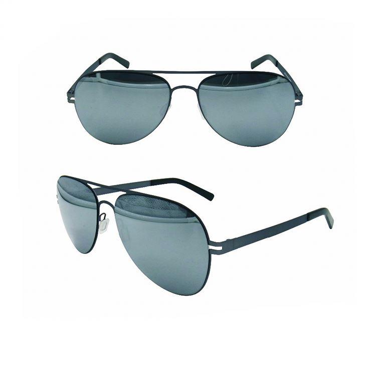EUGENIA high quality sliver frame color sunglasses