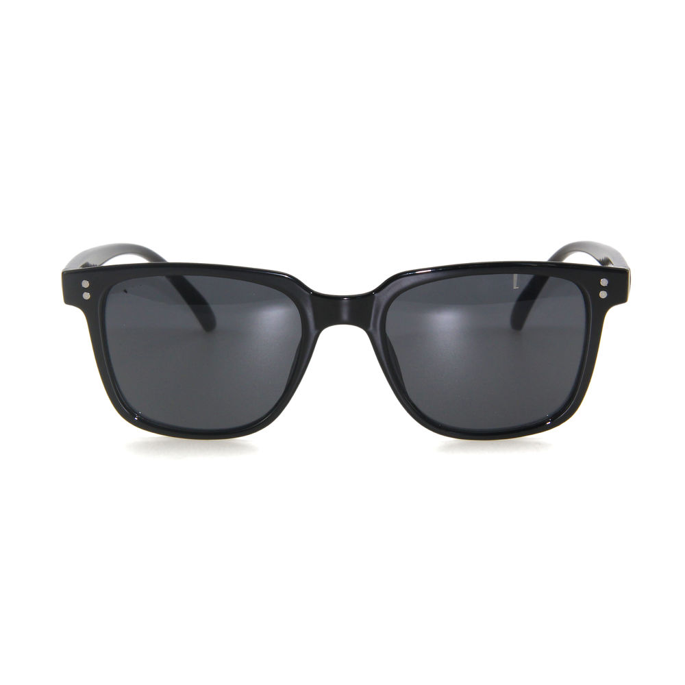 EUGENIA square frame italy design factory price classic shape simple color custom logo sunglasses
