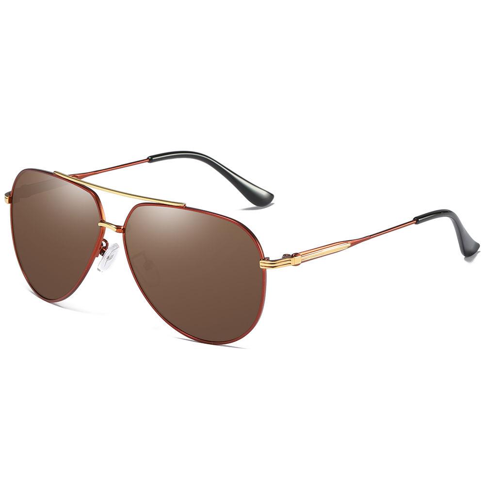 EUGENIA 2020 high quality china custom uv sun glasses men oem made in china metal sunglasses uv400