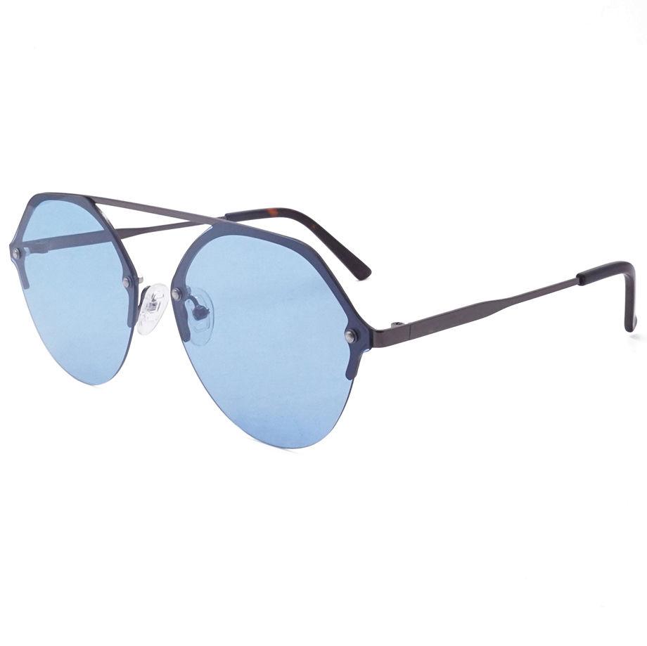 EUGENIA high quality fashion wear round frame uv400 women metal sunglasses