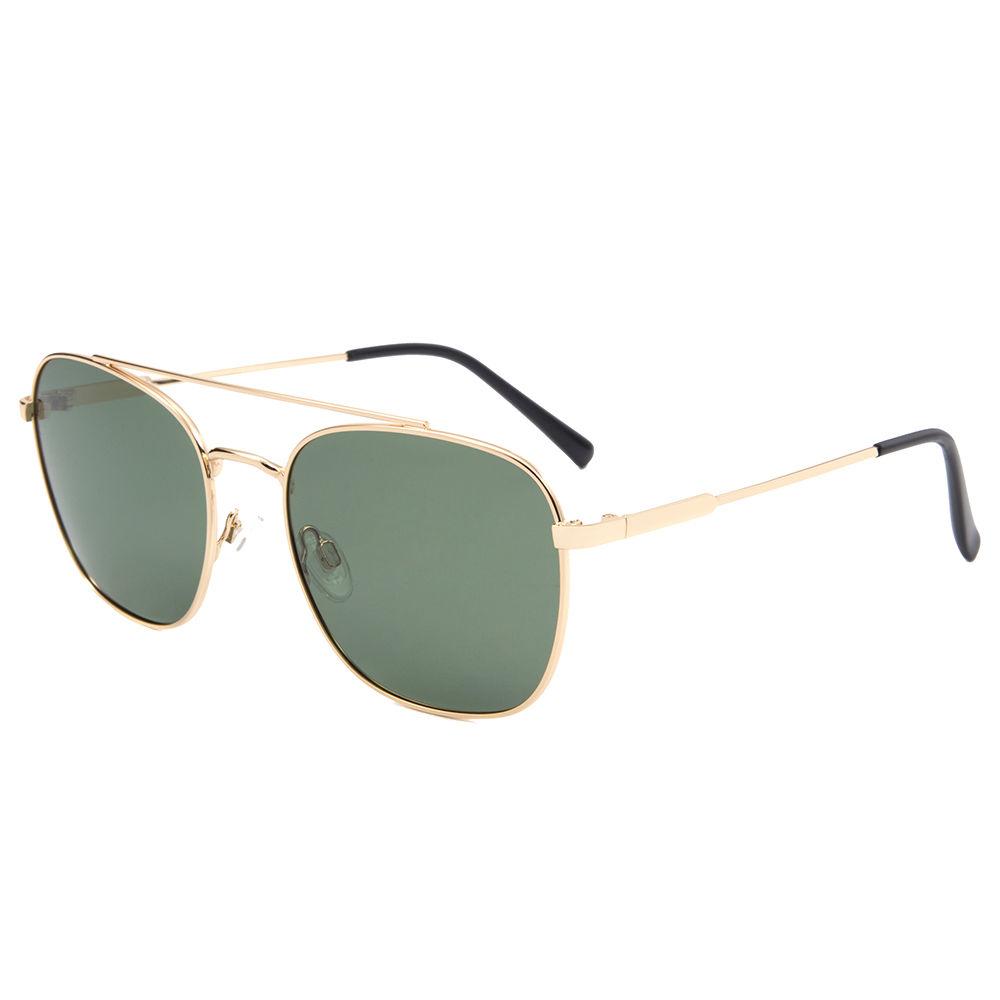 EUGENIAchina suppliercustom OEM oversize sun glasses metal sunglasses 2020
