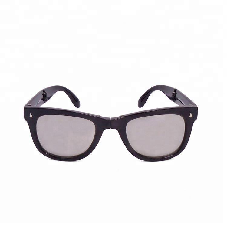 Modern style wholesale exquisite portable fashion folding sunglasses