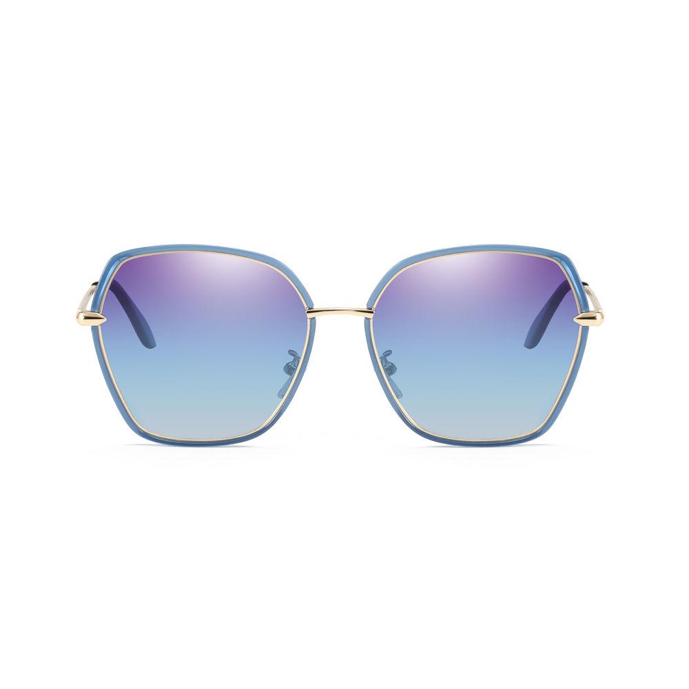 EUGENIARetro Classic Sunglasses Women Oval Shape Feminino Fashion Sunglasses