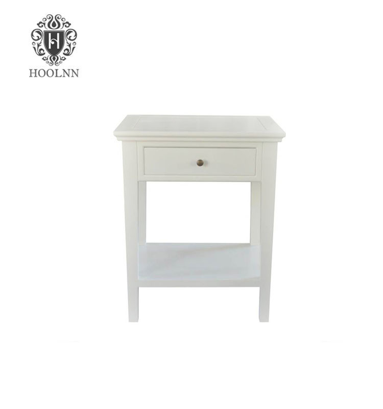 Modern French-style Wooden Bedside Table HL292-AW