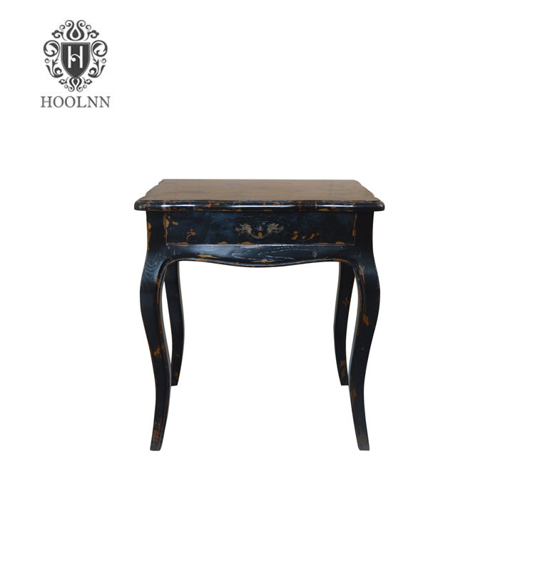 Antique French-style Wooden Nightstand HL020-DB