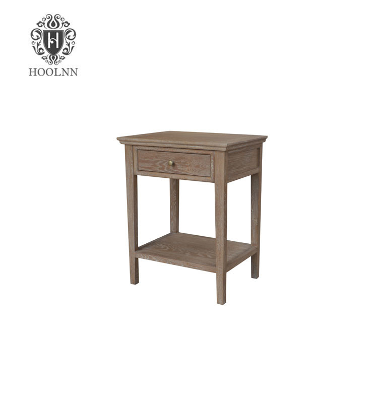 French-style Antique Wooden Nightstand HL292-103