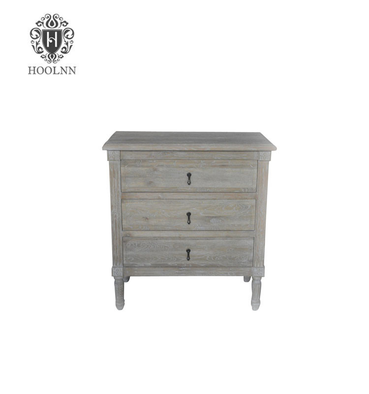 French Style Antique Wooden Flinders Furniture Bedside HL132