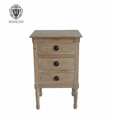 French style Wooden Nightstand HL299