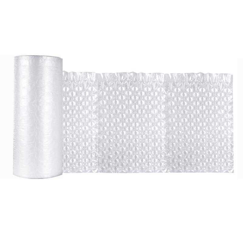 Custom wholesale eco-friendly air bubble film wrap co-extruded bag cheap cushion roll